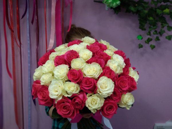 Роза микс 51 шт.